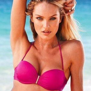 💚Victoria's Secret Very Sexy Bandeau Bikini 36D